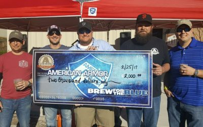 """Brew for the Blue"" raises $2,000 for body armor"