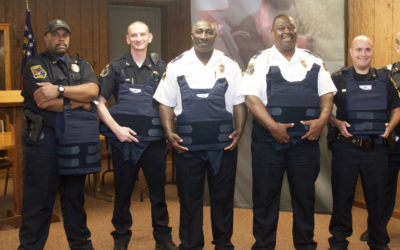 American Armor provides officers in Woodbury, Georgia with new body armor